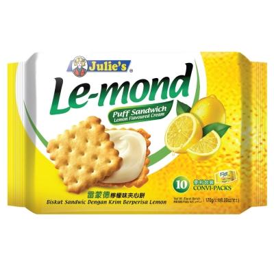 Julies茱蒂絲 雷蒙德檸檬味夾心餅(170g)