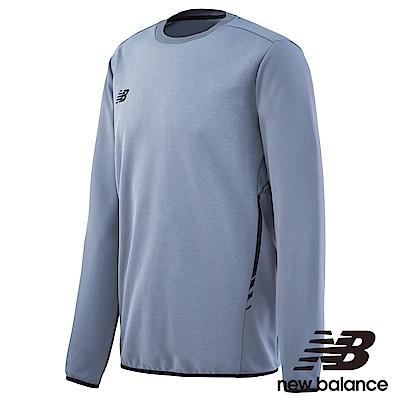 New Balance 運動練習長袖T恤 MT732051GNM 男性 灰色