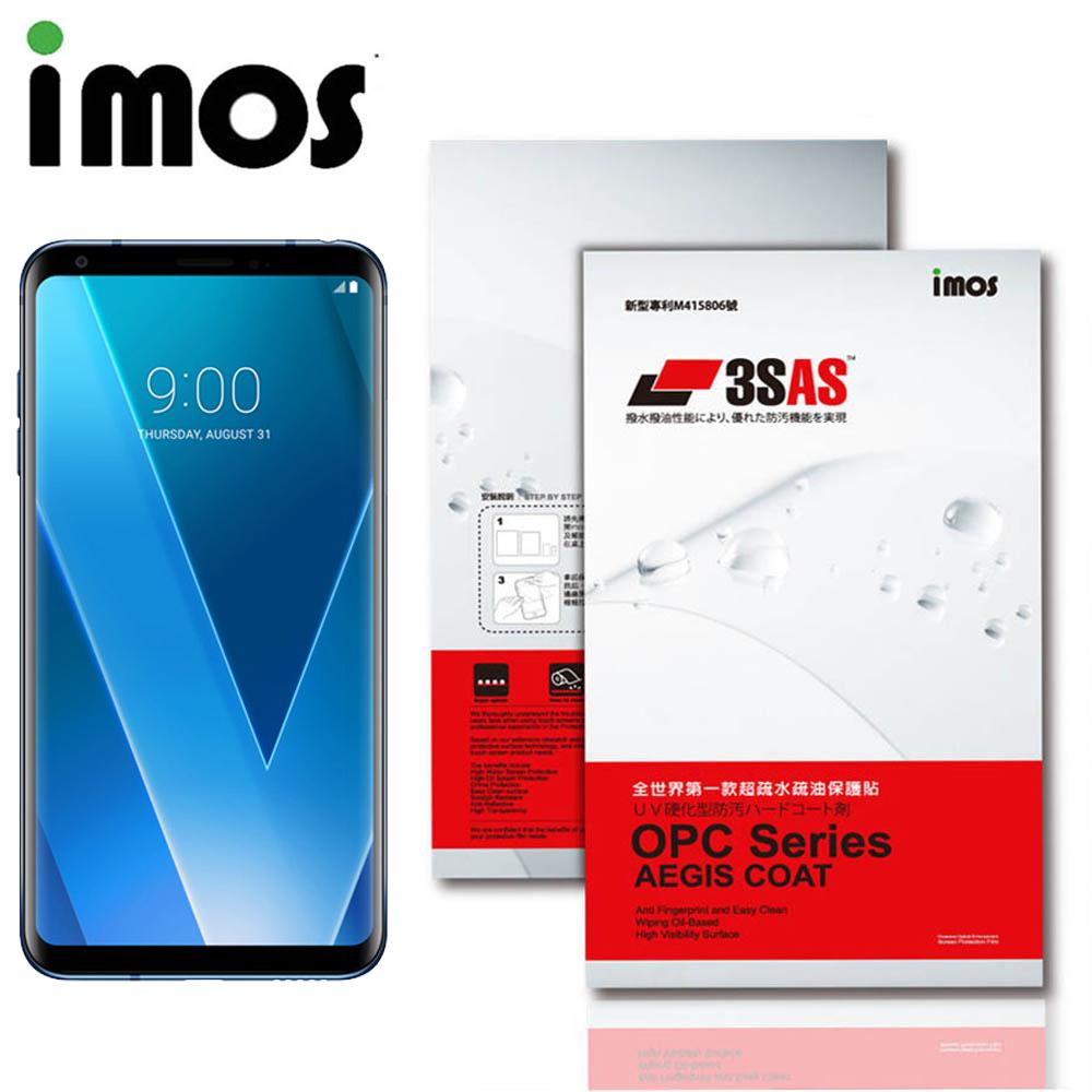 iMos LG V30 3SAS 疏油疏水 螢幕保護貼 @ Y!購物