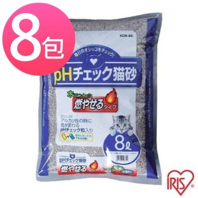 IRIS健康檢查豆腐砂 KCM-80 8L (八包組)