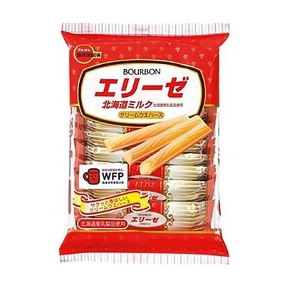 Bourbon北日本 艾莉絲北海道牛奶風味威化餅(64.8g)