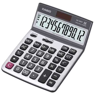 CASIO卡西歐12位元仰角商用計算機(DX-120ST)