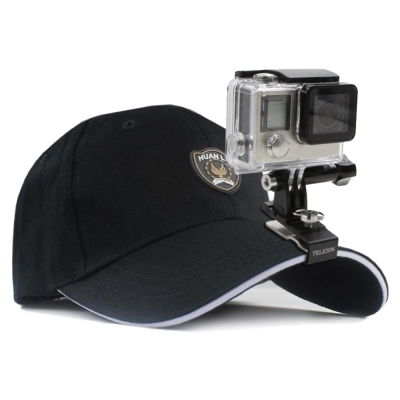 TELESIN 運動相機專用 帽夾 鴨舌帽 固定支架