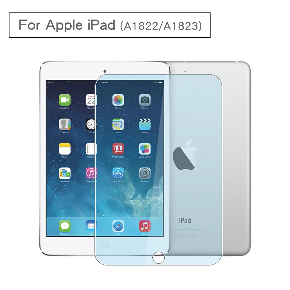 新款Apple iPad 2.5D防爆9H鋼化玻璃保護貼A1822 A1823