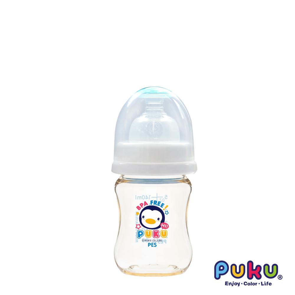 PUKU實感寬口PES奶瓶-140ml