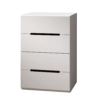 品家居 凱伊2尺雙色四斗櫃-60.5x45.5x96.5cm免組