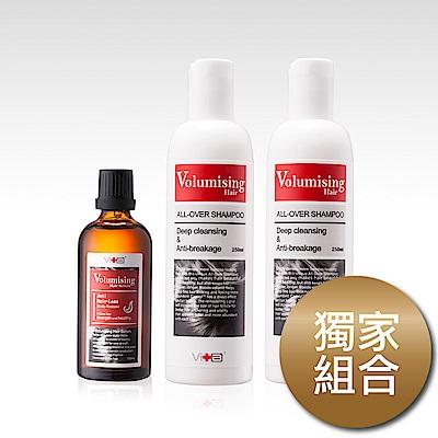 Swissvita薇佳 洗髮精250mlX2+養髮液100ml