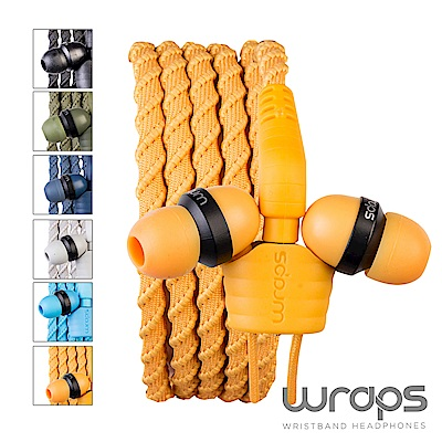 亞果元素 Wraps 手環耳機 Talk 經典編織款