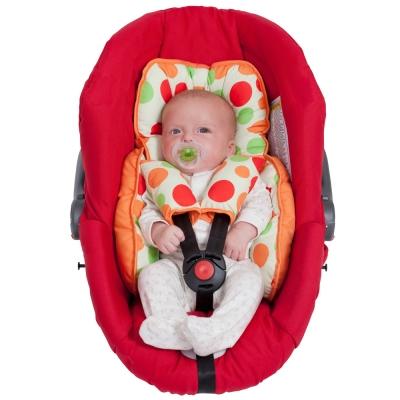 ClevaMama 舒適坐墊+安全帶護套(推車汽座專用)