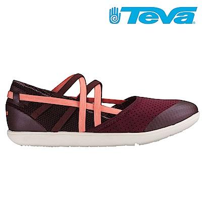 TEVA Hydro-Life Slip-On 女休閒鞋 酒紅
