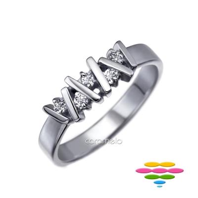 彩糖鑽工坊 鑽石戒指 堆積愛情系列