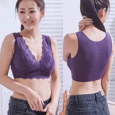 一王美 台灣製舒適網布蕾絲女胸衣 3件