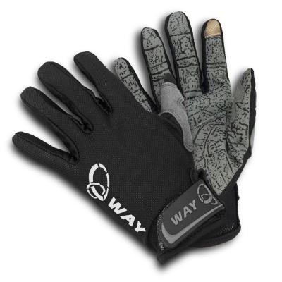 WAY A-016 運動休閒手套 保暖 防曬手套多用途合一-快