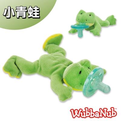 美國WubbaNub PHILIPS Soothie安撫奶嘴絨毛玩偶(0-3M適用)小青蛙