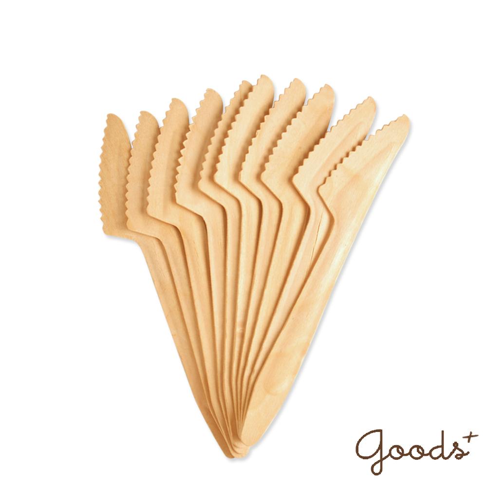 goods+ 北歐莊園 免洗餐具木刀 / 刀子 (3組30入)_XK01