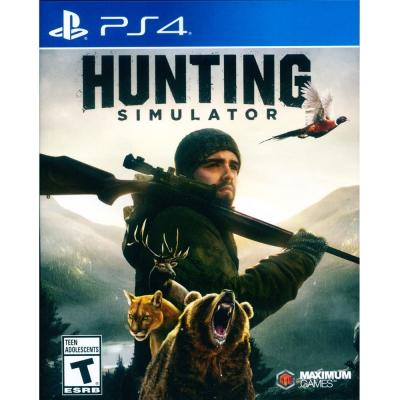 模擬狩獵 Hunting Simulator- PS4 中英日文美版