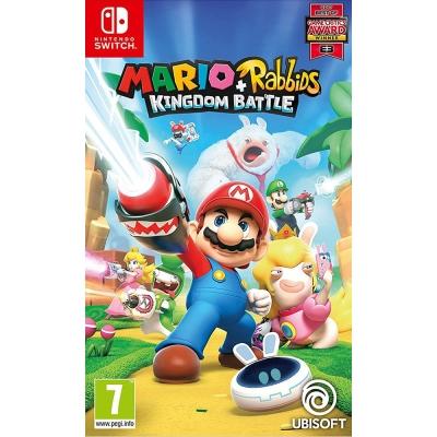 瑪利歐 + 瘋狂兔子 王國之戰 Mario - Nintendo Switch 中英文歐版