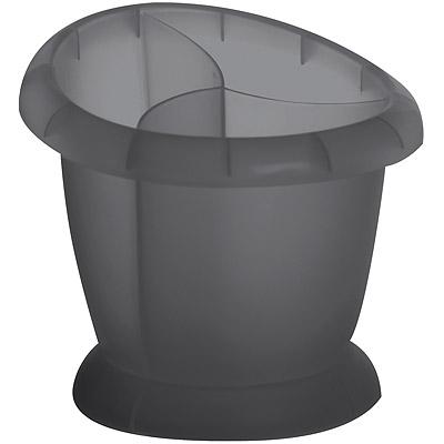EXCELSA 三格餐具瀝水筒(灰)