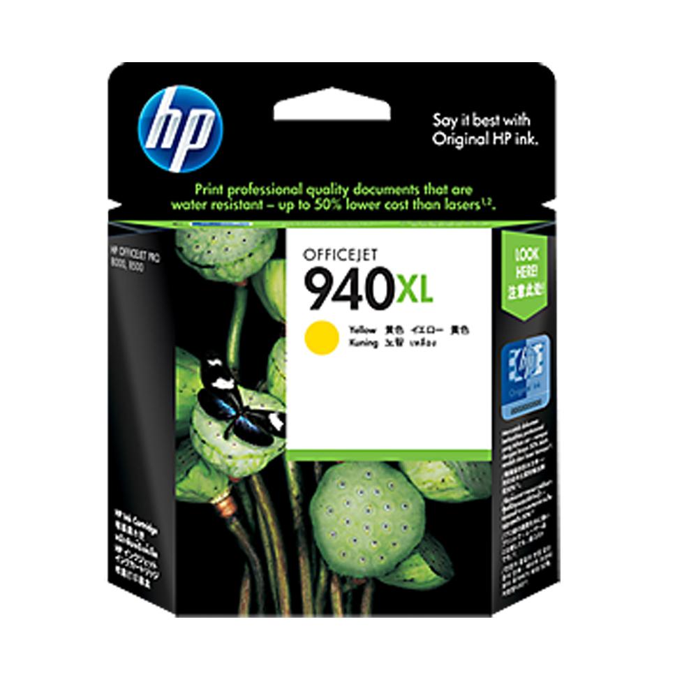 HP  C4909AA 940XL 原廠黃色墨水匣