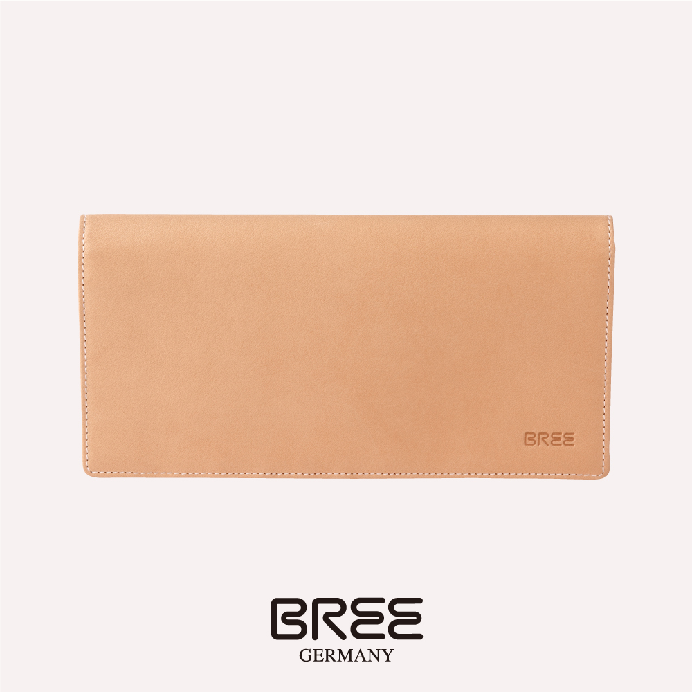 BREE Lund 124 自然色 長夾  38-186750124