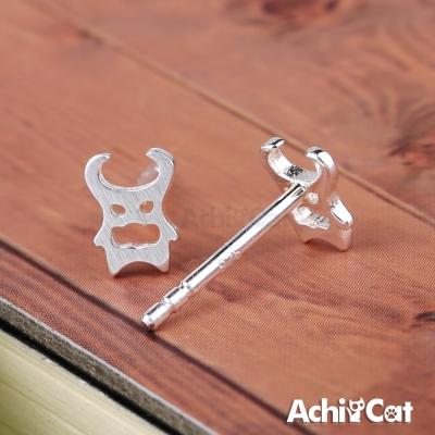 AchiCat 925純銀耳環 小惡魔