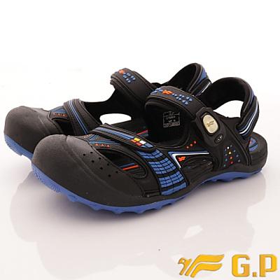GP時尚涼拖-護趾透氣涼鞋-GSE668W23寶藍(女段)
