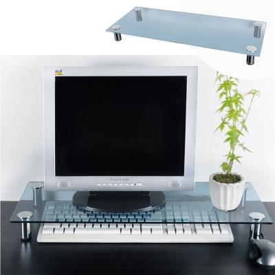 澄境 強化玻璃螢幕桌上收納架-DIY