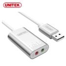UNITEK 優越者立體聲USB外接式音效卡