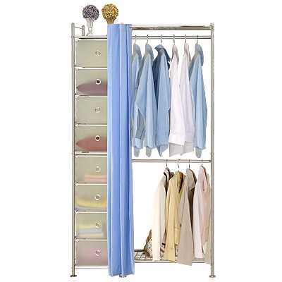 巴塞隆納─W2+D型60公分衣櫥置物架