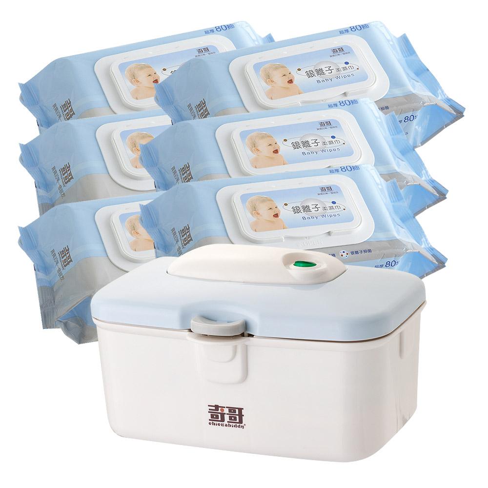 奇哥 銀離子柔濕巾80抽 - 箱裝24包