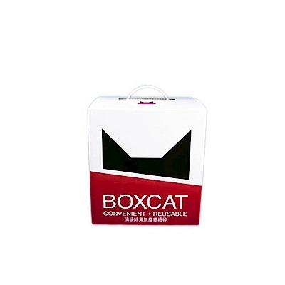 【國際貓家】BOXCAT紅標-頂級除臭無塵貓砂11L(11kg)