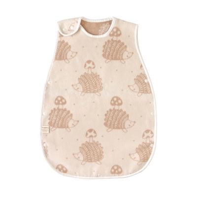 Hoppetta 蘑菇刺蝟棉毛防踢背心