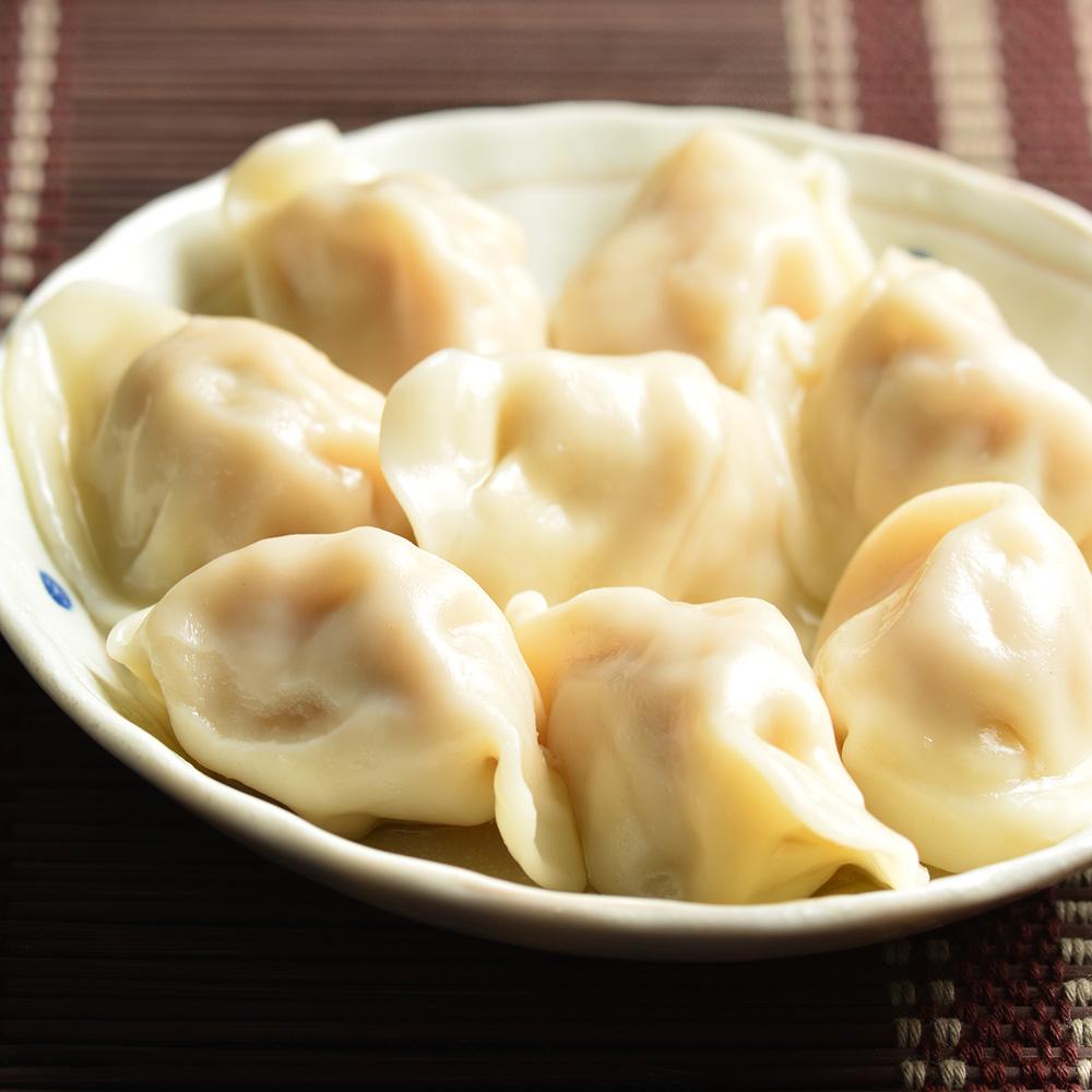 蔣老爹 暢銷團購組 麻辣餃x5+高麗菜x5