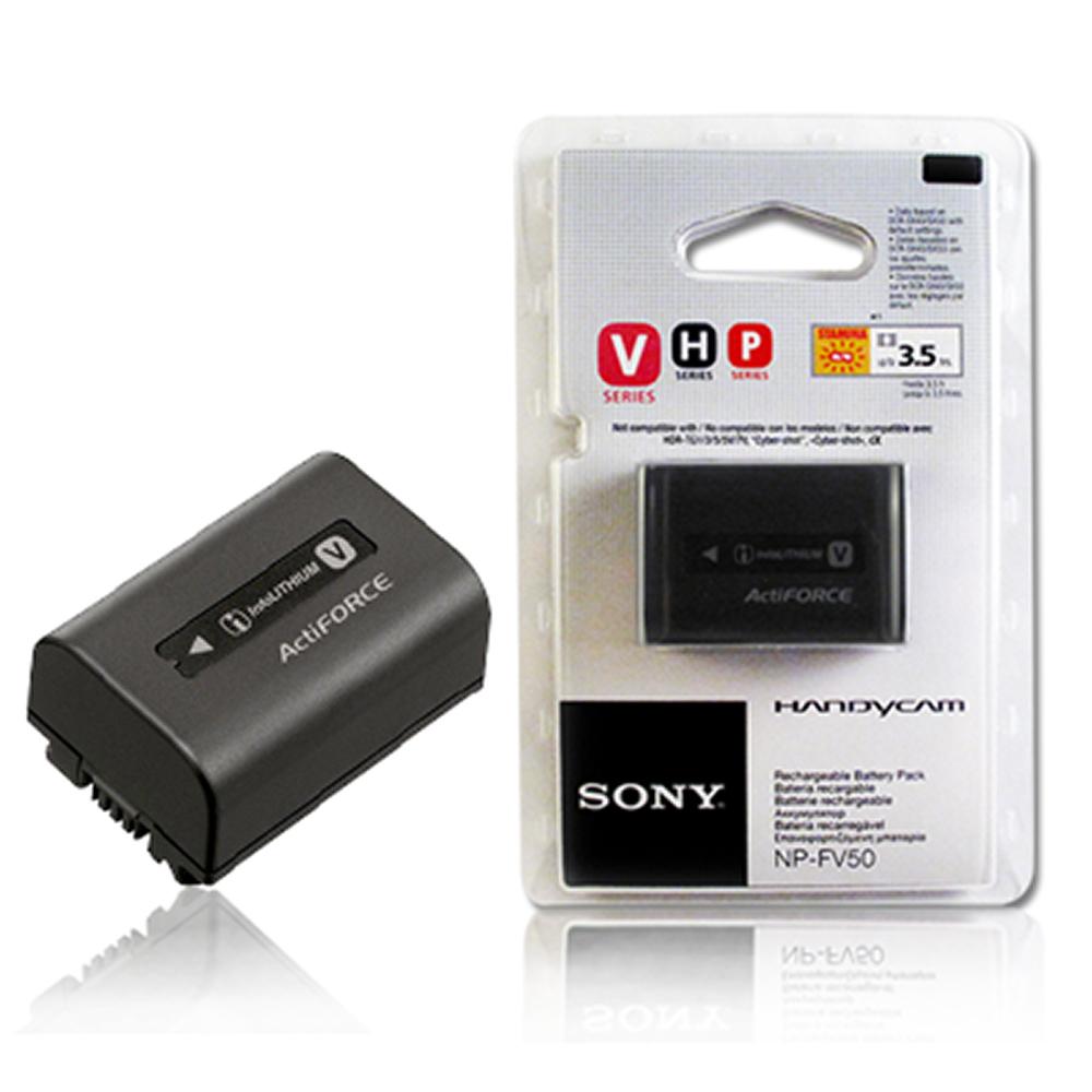 SONY NP-FV50/FV50 V系列 攝影機專用原廠鋰電池