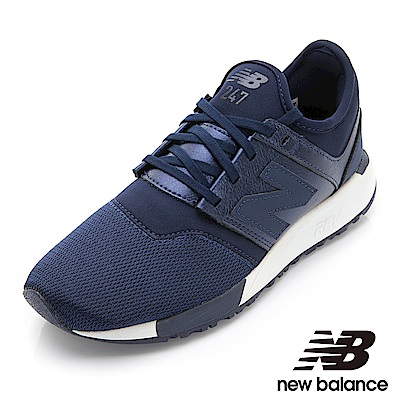 New Balance 247復古鞋 WRL247HI-B女性深藍