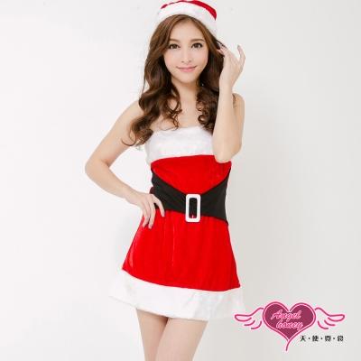 耶誕服 簡約凡爾賽狂熱聖誕舞會角色服(紅F) AngelHoney天使霓裳