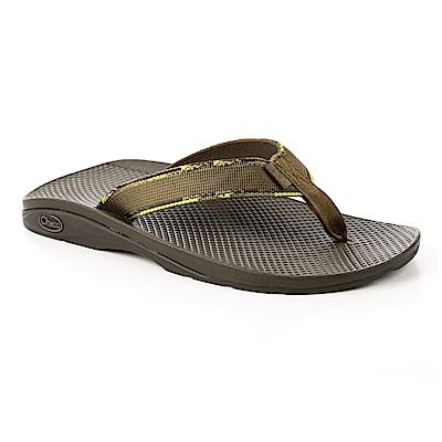 美國Chaco。男 戶外運動涼鞋-沙灘款CH-ETM01HC59 (綠保齡球)