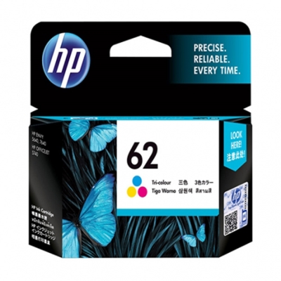 HP C2P06AA #62 彩色原廠墨水匣