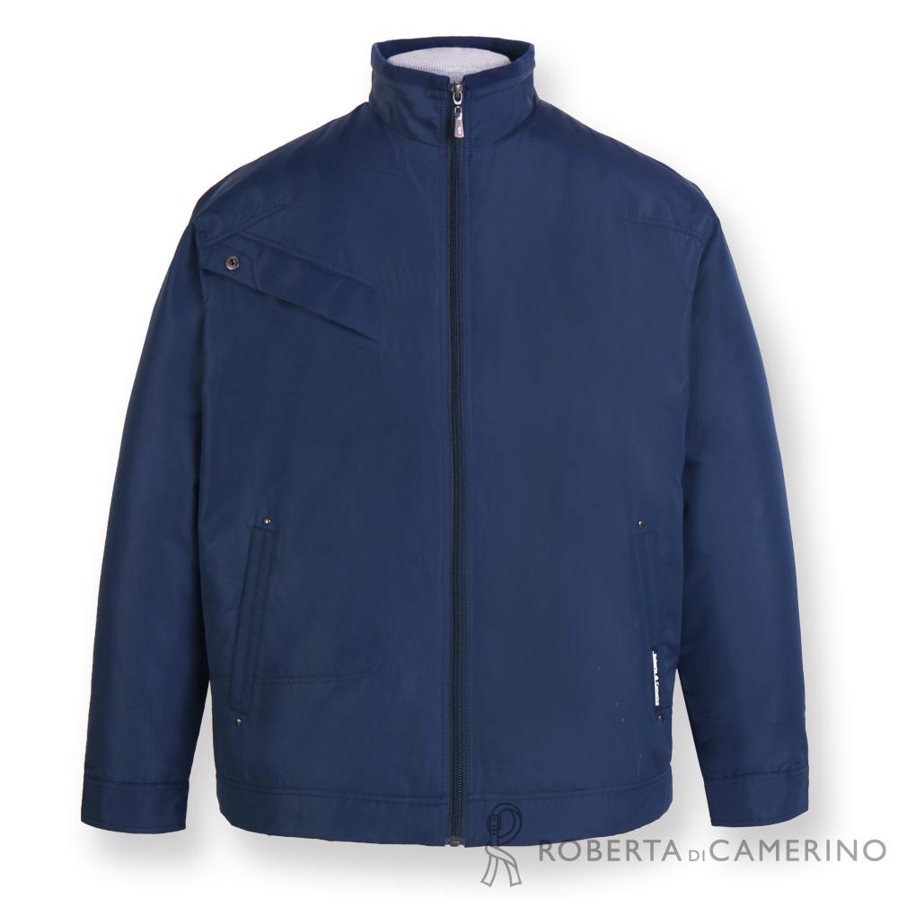 ROBERTA諾貝達 立領深藍休閒夾克