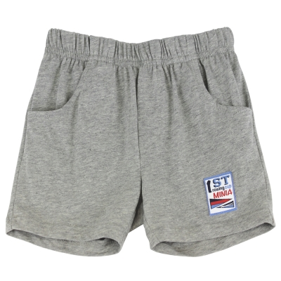 愛的世界 MYBABY 賽艇純棉休閒五分褲/1~3歲