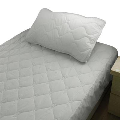 bedtime story 舒適繽紛彩虹保潔墊-灰色-雙人5尺平單式