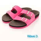 【WAVE3】釘電銀扣水手鞋-黑桃(17206221)