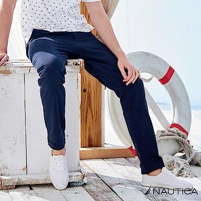 Nautica經典百搭休閒長褲 -深藍