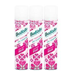 Batiste 秀髮乾洗噴劑 淡雅花香200mlx3入