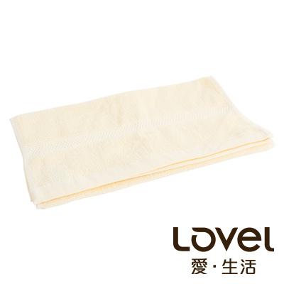 LOVEL 嚴選六星級飯店精選款-毛巾(米黃)