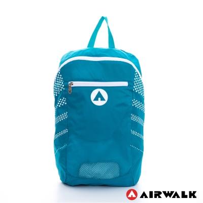 AIRWALK-小袋不小-可折疊收納輕量後背包