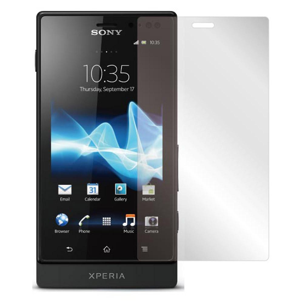 ZIYA Sony Xperia sola  MT27i抗反射(霧面)螢幕保護貼 - 2入