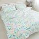 米夢家居-台灣製造-100%精梳純棉印花床包+單人兩用被套三件組-萬花筒-單人3.5尺 product thumbnail 1