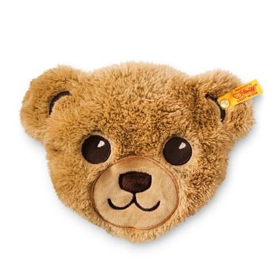 STEIFF德國金耳釦泰迪熊-Bear Head Heat  冷熱敷枕 (嬰幼兒玩偶系列)