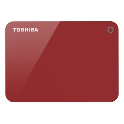 Toshiba 先進碟V9 2TB 2.5吋USB3.0外接式硬碟(浪漫紅)